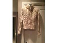 D&G chunky knit cardigan