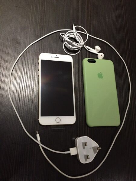 iPhone 6+ Gold Unlocked 64GB Immaculate condition - factory restored