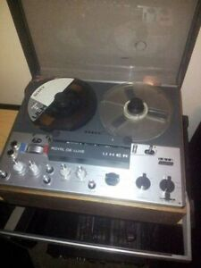 1968 German Uher Royal Deluxe Reel to Reel Professional Stereo R