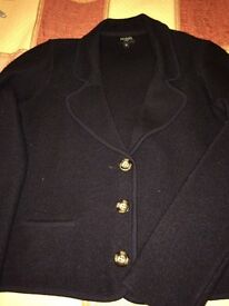 Smart Hobbs stretchy wool cardigan size 8