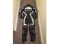 Rst leather track suit