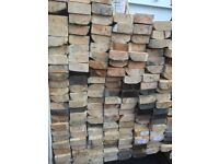 4x9cm, 8ft long timber wood lengths for construction, shed, decking etc