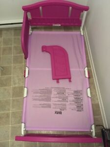 Toddler bed. Used for month.