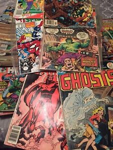 HUGE collection of old comic books for sale