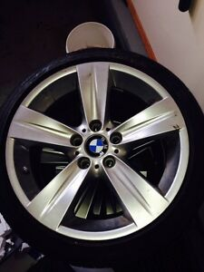 "19"" BMW 335i Sport Wheels and Tires Regina Regina Area image 1"