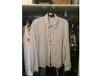 River island blouse size 16 £2