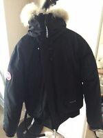 Canada Goose Jacket Men's Large Black Bomber