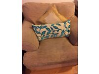 Cream comfy chair £50