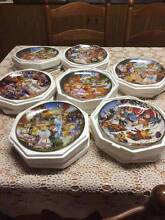 Teddy Bear collection 7 plates - Limited Edition Franklin Mint Southbank Melbourne City Preview