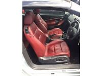 GENUINE VW Eos Red NAPPA Leather Interior, Door Cards Electric Heated Seats GOLF CADDY SKODA SEAT