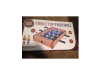 Small Tabletop football game 51x31cm