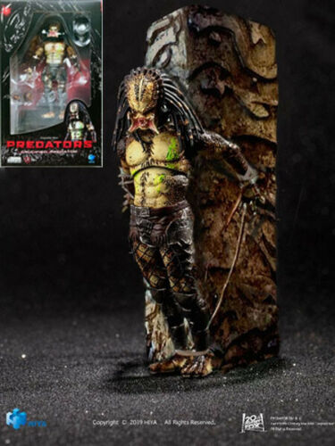 Hiya Toys Predators Crucified Predator 1:18 Scale Action Figure New In Stock