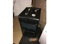 Hotpoint cooker black