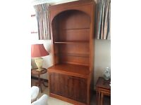 Yew Display Cabinet