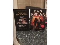 Books: Girl on the Train and Inferno