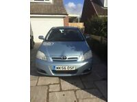 Toyota Corolla D-4D 56 Plate 5Door Hatch Back Ex Low Millage 14700 miles SH MOT Sept17 TAX Aug17