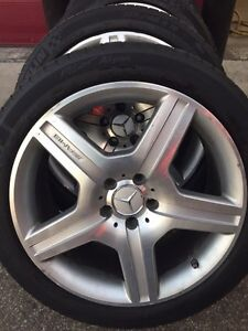 Mercedes s63 AMG rims and tires  Windsor Region Ontario image 4