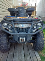 For sale 2013 can-am outlander xt 800