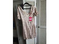 Bodycon sequin dress size 12
