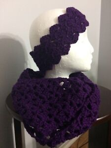 Various crocheted hats, scarves, headbands, cowls Kitchener / Waterloo Kitchener Area image 4