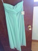 Two mint green bridesmaids dresses 50$ !