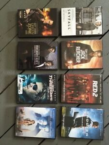 DVD's for sale  $3.00 each