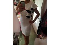 White Dress Jane Norman size 8