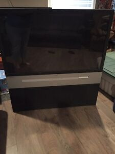 """55"""" projection screen HDTV"""