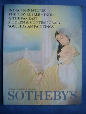 Indian Miniatures, South Asian Paintings | Sotheby's Catalogue, 8 June 2000