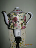 Chintz Teapot night light