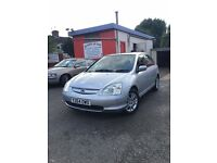 2001 Honda Civic 1.6 16v SE Executive - great service history!