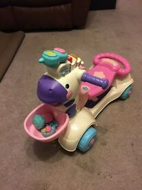 Vtech 3 in 1 scooter in pink
