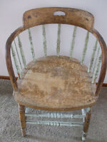 Antique Captains Chair from CNR