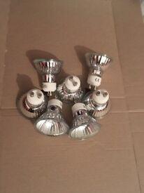 GU10 bulbs
