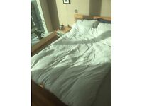 Featherbed bed mattress topper double size