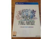 RARE - PS4 World of Final Fantasy COLLECTORS EDITION - NEW & SEALED