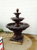Fountain Sale -up to 40% off -Millar Ave/45th st