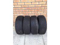 """4x winter / snow tyres 16"""""""