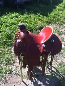 15.5 roper saddle for sale Strathcona County Edmonton Area image 3