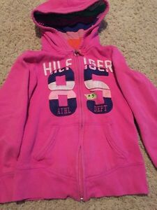 Youth swimsuit (fits slim) $10, hoodies $5, vest $10.  Strathcona County Edmonton Area image 7