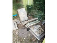 Paving slabs - free fro collection