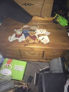 Teddy bear storage box