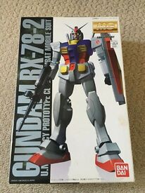 Gundam RX-78-2 1/100 MG model kit - 1998 20th anv. Coating version (JPN import)