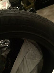 225/55r/17 4 winter tires used 2 seasons only West Island Greater Montréal image 2