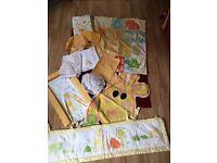 Giraffe Themed Nursery set From Mothercare