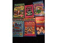 6 Jaqueline Wilson books