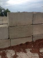 Concrete Meter Blocks