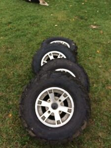 Can am tires and rims