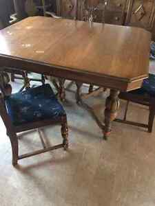 3 piece Antique Dining Room Set $750.00