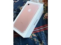 Brand New Iphone 7 256GB Rose Gold